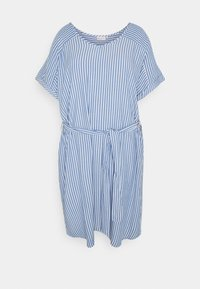 ONLY Carmakoma - CARBLUE DRESS - Day dress - colony blue/white - 4