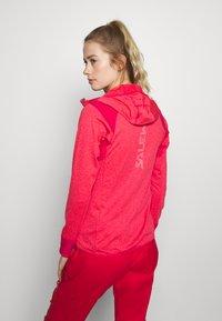 Salewa - AGNER HYBRID  - Fleece jacket - virtual pink melange - 2
