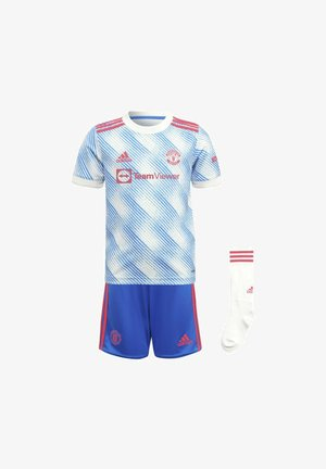 MANCHESTER UNITED AWAY MINI FOOTBALL AEROREADY PRIMEGREEN MINIKI - Sports shorts - blue