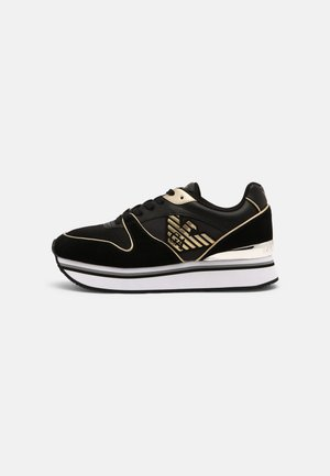 Trainers - black/light gold
