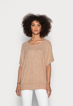 SC-BIARA 70 - Print T-shirt - sand melange