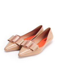 Melissa - POINTY - Bailarinas - beige/red - 3