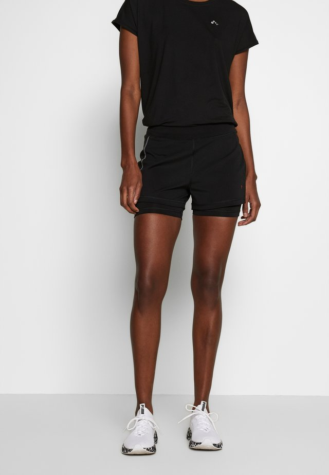 ONPPERFORMANCE RUN LOOSE - Shorts - black