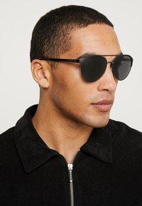 Polo Ralph Lauren - Sunglasses - matte dark gunmet/black - 1