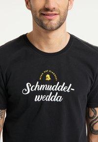 Schmuddelwedda - T-SHIRT - Print T-shirt - schwarz - 3