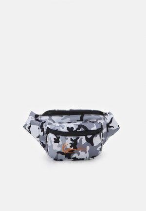 SIGNATURE WAIST BAG UNISEX - Ledvinka - black