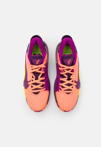 Nike Performance - FREAK 2 SE UNISEX - Koripallokengät - bright mango/red plum/volt/grand purple - 3