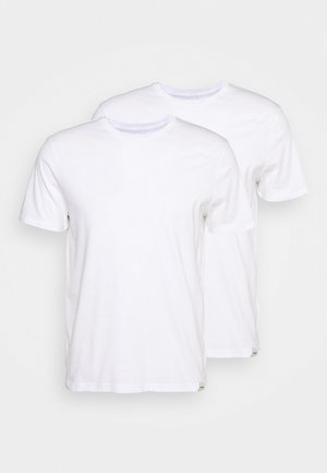 TEE 2 PACK - T-shirts - white