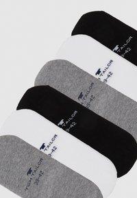 TOM TAILOR - INSHOE BASIC 6 PACK - Trainer socks - black/white/grey - 1