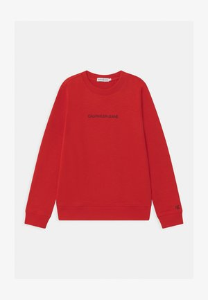 EMBROIDERED LOGO UNISEX - Sweater - red
