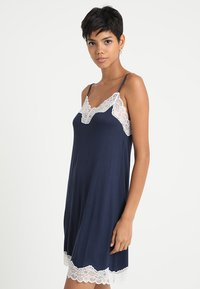 Benetton - DRESS - Nightie - black iris - 0