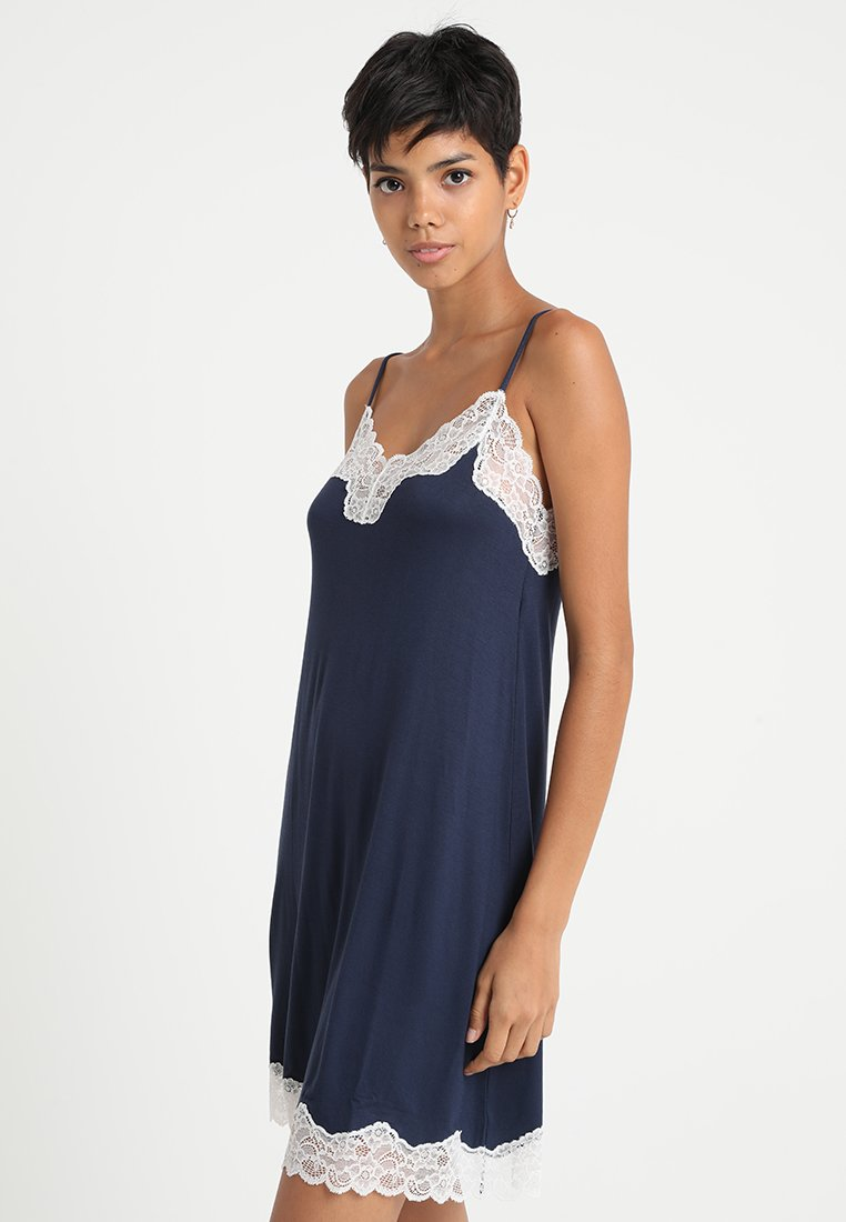 Benetton - DRESS - Nightie - black iris