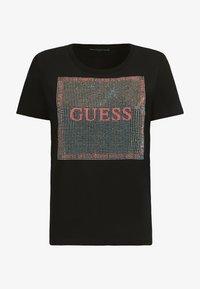 Guess - Print T-shirt - schwarz - 3
