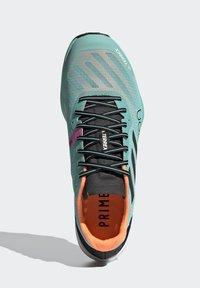 adidas Performance - TERREX SPEED PRO  - Løpesko for mark - green - 3