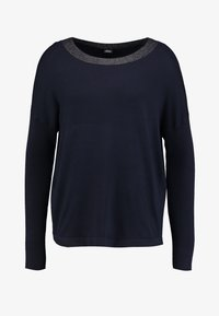 s.Oliver BLACK LABEL - Strikpullover /Striktrøjer - luxury blue - 4