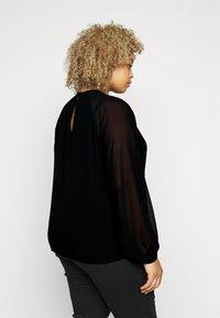Vero Moda Curve - VMINGA  - Blouse - black - 3