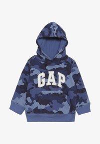 GAP - TODDLER BOY LOGO  - Hoodie - blue - 2