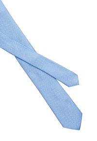 Calvin Klein - PEBBLE DOT TIE - Tie - light blue - 2