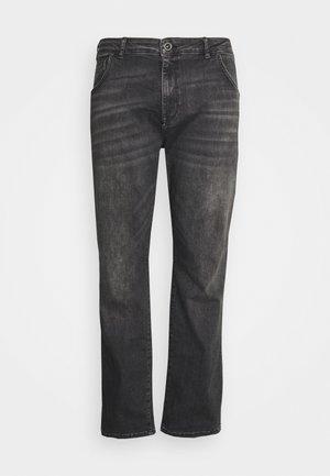 BATES PLUS - Jeans a sigaretta - black used