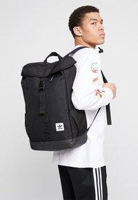adidas Originals - TOPLOADER - Rucksack - black - 1