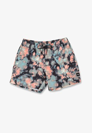 MN MIXED VOLLEY - Shorts - black tie dye