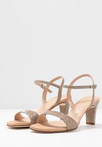 Unisa - MECHI - Sandals - gold - 4