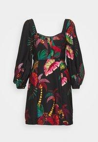 Farm Rio - JUNGLE COLORS MINI DRESS - Day dress - multi - 5