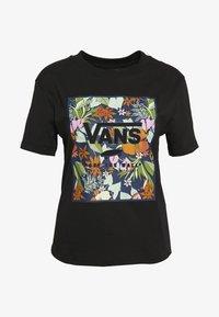 Vans - SONGWRITER JUNIOR BOXY - T-shirt imprimé - black - 4
