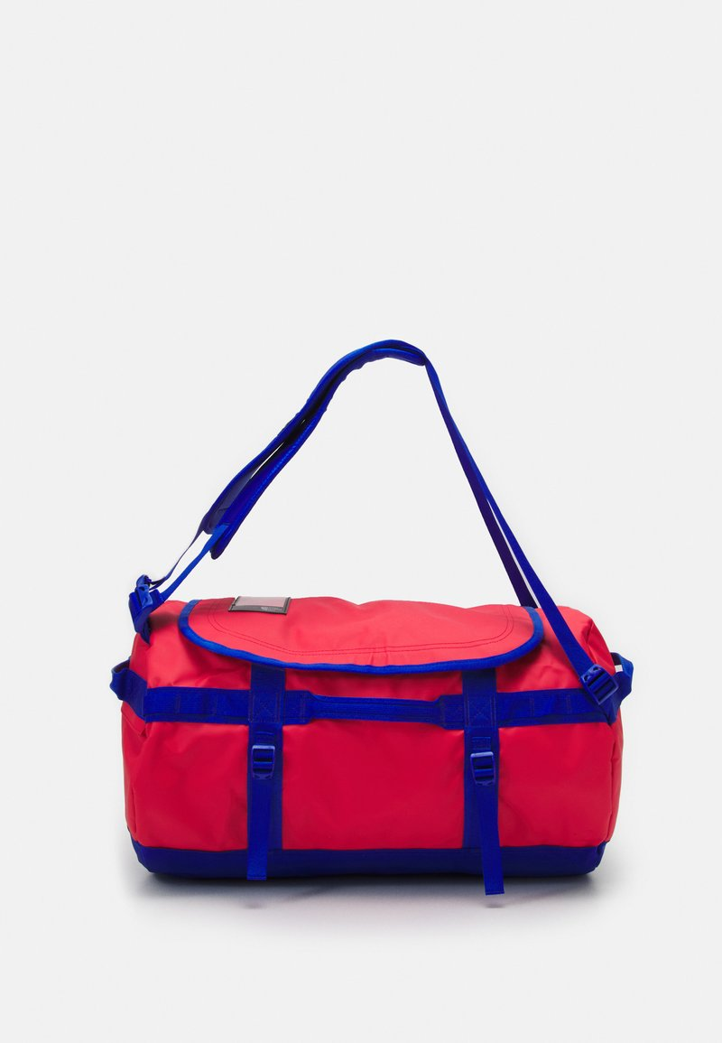 The North Face - BASE CAMP DUFFEL S UNISEX - Sports bag - horizon red/blue