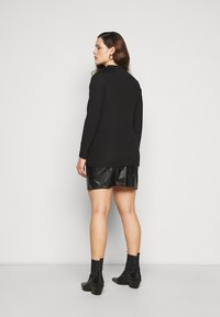 River Island Plus - Long sleeved top - black - 2
