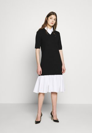 CYNTHIA LOVELY DRESS - Pletené šaty - black