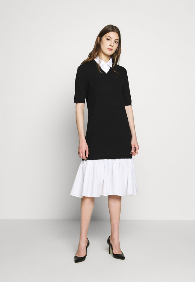CYNTHIA LOVELY DRESS - Abito in maglia - black