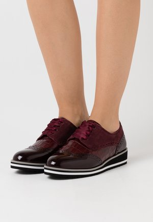 Lace-ups - bordeaux