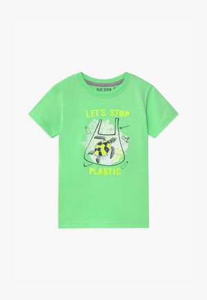 SMALL BOYS EARTH DAY - Print T-shirt - hell grün