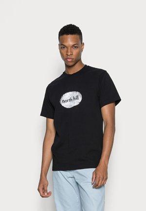 FINGERPRINT TEE - T-shirt print - black