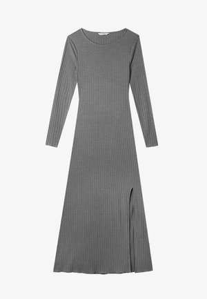 MIT SCHLITZ  - Maxi dress - grey