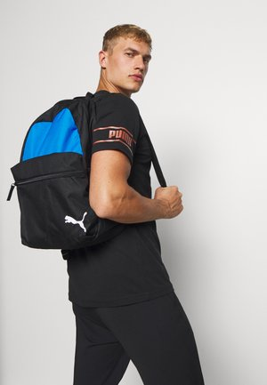TEAMGOAL BACKPACK CORE - Ryggsekk - electric blue lemonade/black