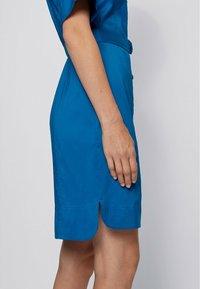 BOSS - DASHILO - Shirt dress - open blue - 4