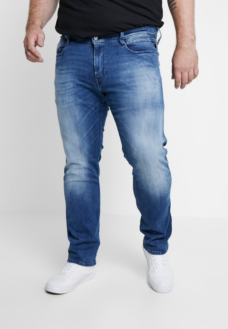 Replay Plus - MG914 - Džíny Straight Fit - light-blue-denim