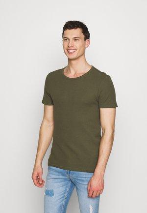 T-shirt basique - olive
