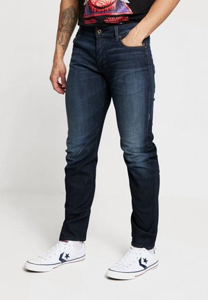 ARC 3D SLIM - Slim fit jeans - elto superstretch dark aged dry wax