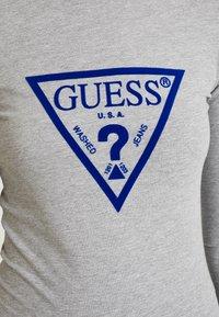 Guess - KUMIKO - Long sleeved top - stone heather grey - 4