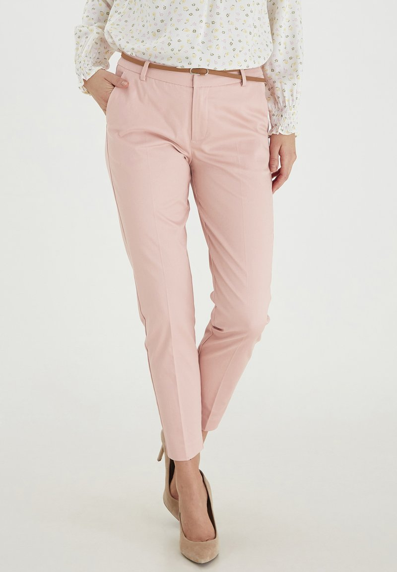 b.young - DAYS CIGARET - Trousers - rose tan