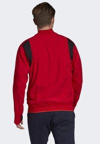 adidas Performance - VRCT JACKET - Training jacket - red - 2