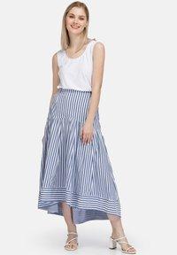 HELMIDGE - A-line skirt - hellblau - 1