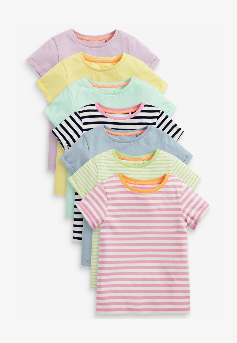 Next - 7 PACK  - T-shirt print - multi-coloured