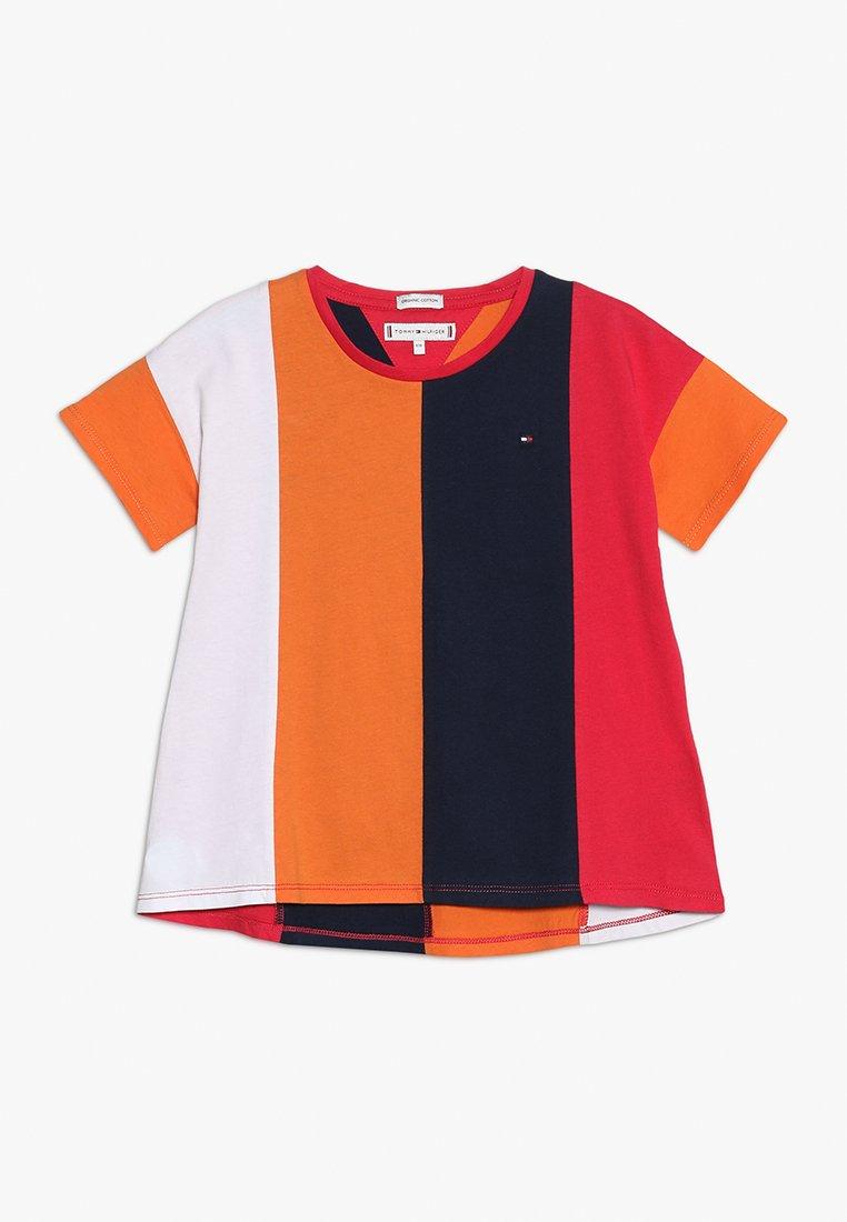 Tommy Hilfiger - COLOR BLOCK PANEL TEE  - T-shirt imprimé - multi