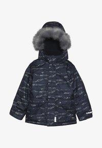 Minymo - SNOW JACKET HERRINGBONE - Veste d'hiver - blue - 6