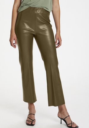 Trousers - military olive