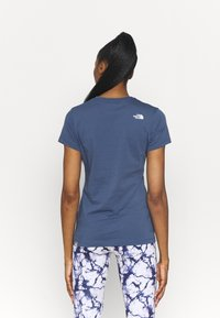 The North Face - SIMPLE DOME TEE - T-shirt basic - vintage indigo - 2